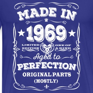 Made in 1969 - Aged to perfection - Men's Premium T-Shirt