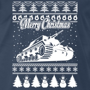 Army Tank Chirstmas Sweater - Men's Premium T-Shirt