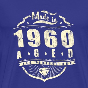 Made in 1960 aged to perfection - Men's Premium T-Shirt
