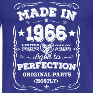 Made in 1966 - Aged to perfection - Men's Premium T-Shirt