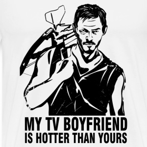 Daryl Dixon - My TV boyfriend is hotter than yours - Men's Premium T-Shirt