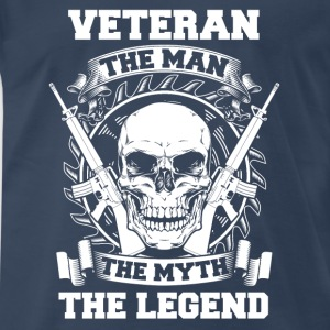 For father veteran  - Men's Premium T-Shirt