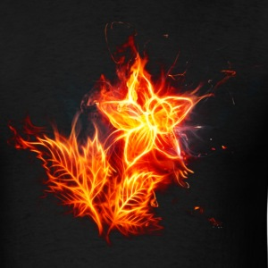 fire flower - Men's T-Shirt
