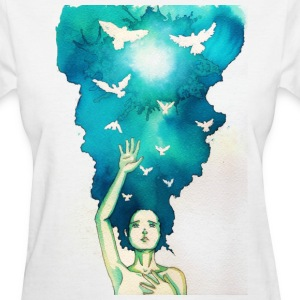 imagine - Women's T-Shirt