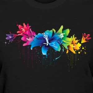 ink flowers - Women's T-Shirt