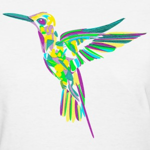 Abstract hummingbird - Women's T-Shirt