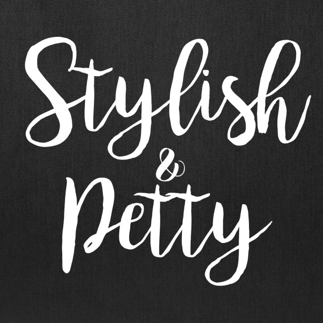 Stylish & Petty Tote