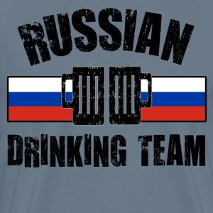 RUSSIAN DRINKING TEAM - Men's Premium T-Shirt