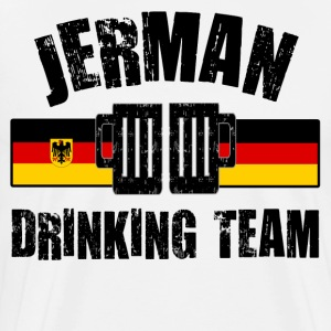 JERMAN DRINKING TEAM - Men's Premium T-Shirt