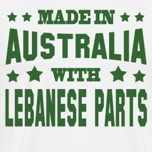 MADE IN AUSTRALIA WITH LEBANESE PARTS - Men's Premium T-Shirt