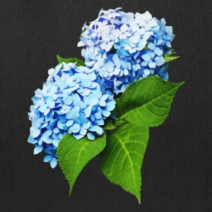 Blue Hydrangea Profile - Tote Bag