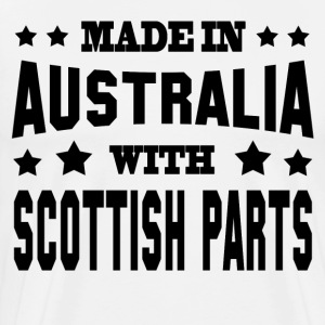 MADE IN AUSTRALIA WITH SCOTTISH PARTS - Men's Premium T-Shirt
