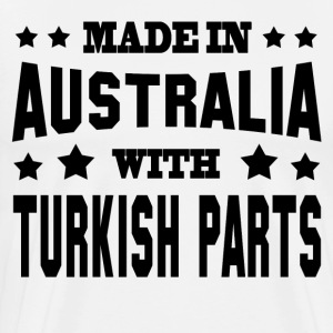 MADE IN AUSTRALIA WITH TURKISH PARTS - Men's Premium T-Shirt