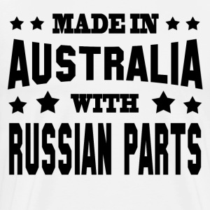 MADE IN AUSTRALIAN WITH RUSSIAN PARTS - Men's Premium T-Shirt