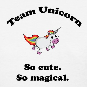 Team Unicorn So Cute - Womens T Black Font - Women's T-Shirt
