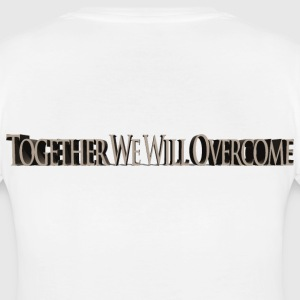 Together We Will Overcome T-Shirts - Women's Maternity T-Shirt