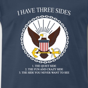 I have three sides  - Men's Premium T-Shirt
