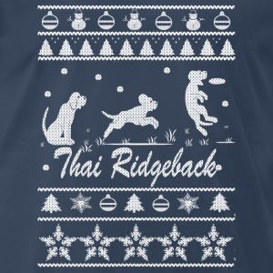 Thai Ridgeback Chirstmas Sweater - Men's Premium T-Shirt
