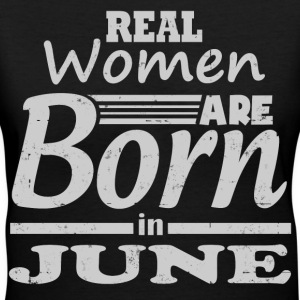 BORN IN - Women's V-Neck T-Shirt