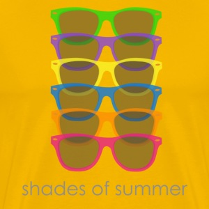 Shades of summer - Men's Premium T-Shirt