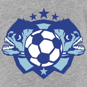 soccer club fierce piranhas piranha logo Kids' Shirts - Kids' Premium T-Shirt