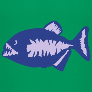 piranha piranhas nasty sharp teeth 3 Kids' Shirts - Kids' Premium T-Shirt