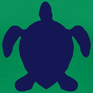 turtle figure shadow 60222 T-Shirts - Women's Premium T-Shirt