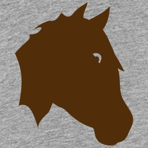 horse head shadow figure 0 Kids' Shirts - Kids' Premium T-Shirt