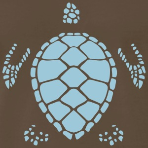 turtle figure shadow 6022 T-Shirts - Men's Premium T-Shirt
