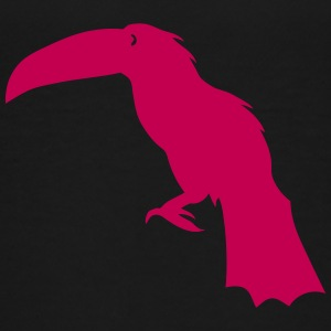 toucan shadow figure bird 602 Kids' Shirts - Kids' Premium T-Shirt