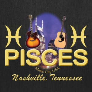 Nashville Pisces Tote Bags - Tote Bag