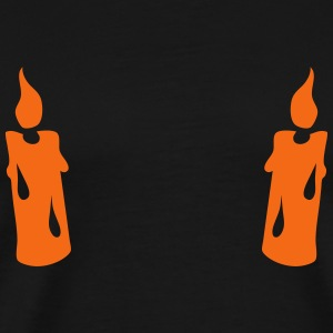 candle flame 6012 T-Shirts - Men's Premium T-Shirt