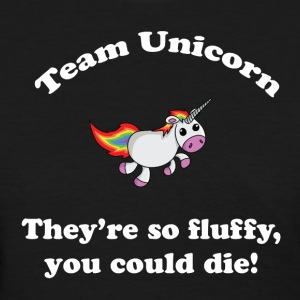 Team Unicorn So Fluffy - Womens T White Font - Women's T-Shirt
