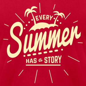 Every Summer has a Story T-Shirts - Men's T-Shirt by American Apparel