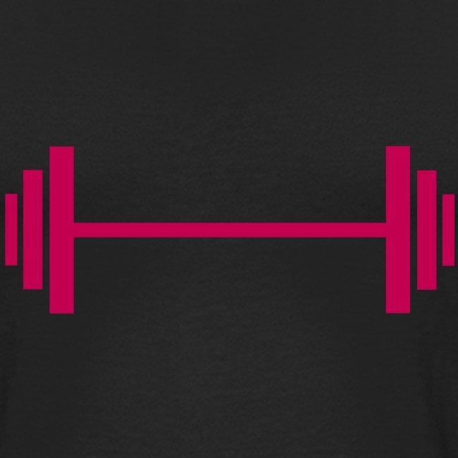 Weight lifting - Baseball T-Shirt
