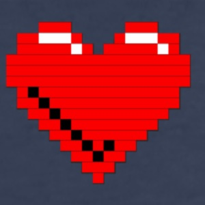 8-bit Heart - Kids' Premium T-Shirt