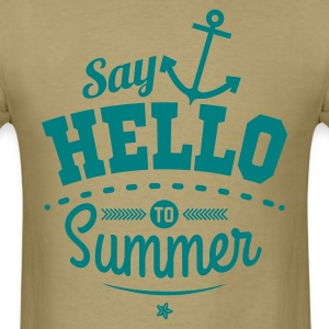 Say hello to Summer T-Shirts - Men's T-Shirt