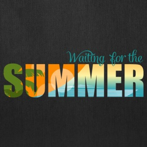 Waiting for the Summer Bags & backpacks - Tote Bag