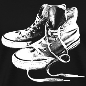 White Sneakers T-Shirts - Men's Premium T-Shirt