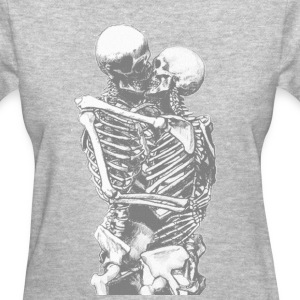 skull love - Women's T-Shirt