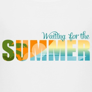 Waiting for the Summer Kids' Shirts - Kids' Premium T-Shirt