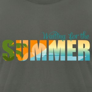 Waiting for the Summer T-Shirts - Men's T-Shirt by American Apparel