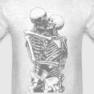 skull love - Men's T-Shirt