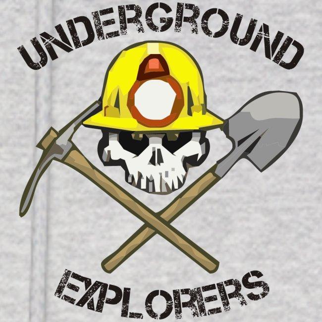 Underground Explorers Gray Hoodie