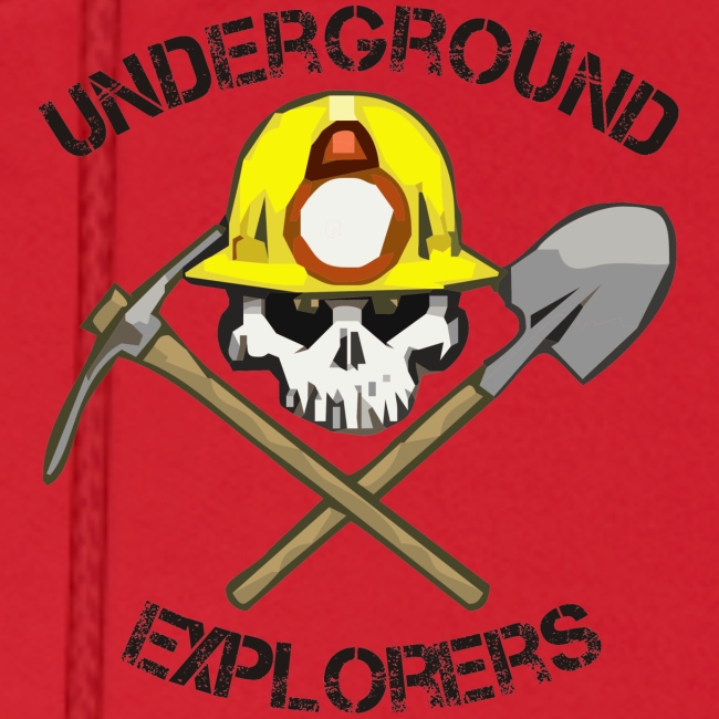 Underground Explorers Red Hoodie
