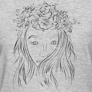 Simple Women Sketch T-shirt - Women's T-Shirt
