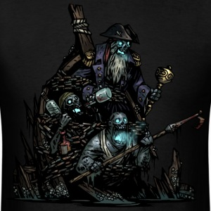 Zombie Pirate - Men's T-Shirt