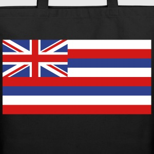Flag Hawaii Bags & backpacks - Eco-Friendly Cotton Tote