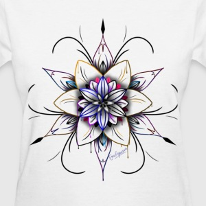 Abstract - Women's T-Shirt