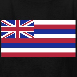 Flag Hawaii Kids' Shirts - Kids' T-Shirt